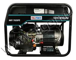 Портативный генератор Hyundai HHY 7020FE ATS мощностью 5.5 кВт)