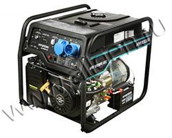 Портативный генератор Hyundai HHY 9020FE ATS мощностью 6.5 кВт)