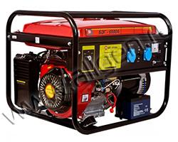 Портативный генератор Калибр БЭГ-6500А мощностью 6.2 кВт)