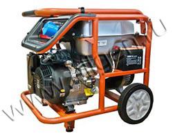 Портативный генератор Zongshen KB 6000 E мощностью 5.5 кВт)