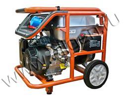 Портативный генератор Zongshen KB 6000 мощностью 5.5 кВт)