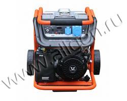 Портативный генератор Zongshen KB 7000 E мощностью 6.5 кВт)