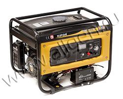 Портативный бензиновый генератор Kipor KGE2500E мощностью 2.2 кВт