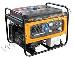 Бензиновый генератор Kipor KGE6500E мощностью 5.5 кВт