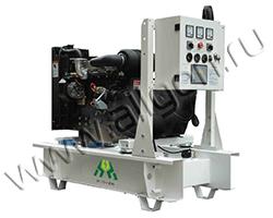Портативный дизельный генератор АМПЕРОС LDG12 E мощностью 11 кВт