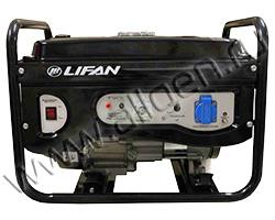 Бензиновый генератор LIFAN 2GF-3 мощностью 2.2 кВт