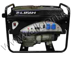 Бензиновый генератор LIFAN 2GF-4 мощностью 2.2 кВт