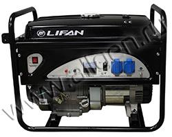 Портативный генератор LIFAN 5GF-3 мощностью 5.5 кВт)