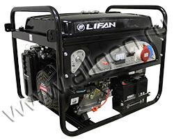 Портативный генератор LIFAN 5GF2-3 мощностью 5.5 кВт)