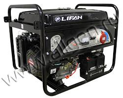 Портативный генератор LIFAN 5GF2-4 мощностью 5.5 кВт)