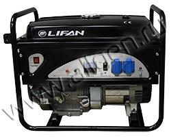 Портативный генератор LIFAN 6GF-3 мощностью 6.5 кВт)