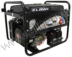 Портативный генератор LIFAN 6GF2-3 мощностью 6.5 кВт)