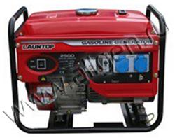 Портативный бензиновый генератор АМПЕРОС LT6500CLE мощностью 5.5 кВт