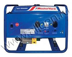 Портативный генератор MasterYard MG 6000RE мощностью 6.5 кВт)