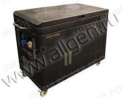 Портативный генератор Mitsui Power ZM 7000 SE мощностью 5.5 кВт)