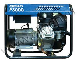 Портативный бензиновый генератор Geko P 3000 E-A/SHBA мощностью 2.8 кВт