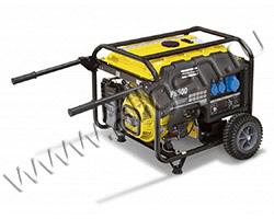 Портативный генератор Gesan P 6500 мощностью 5.5 кВт)
