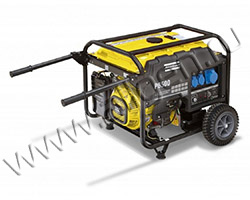 Портативный генератор Gesan P 6500T мощностью 5.5 кВт)