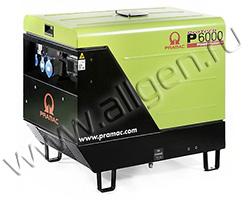 Дизельный генератор Pramac P 6000 (5.3 кВт)