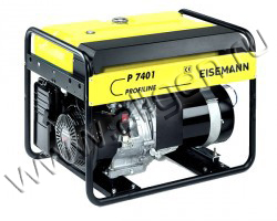 Портативный генератор Eisemann Р 7401 мощностью 6.5 кВт)