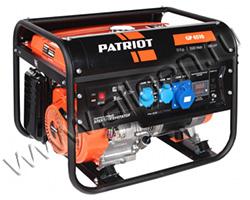 Портативный генератор Patriot GP 6510AE + ATS мощностью 5.5 кВт)