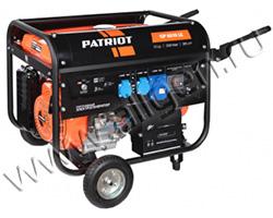 Портативный генератор Patriot GP 6510LE мощностью 5.5 кВт)