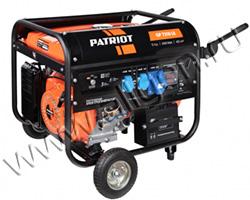 Портативный генератор Patriot GP 7210LE мощностью 6.5 кВт)