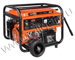 Портативный генератор Patriot GP 7510ALE мощностью 6.5 кВт)