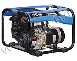 Портативный генератор SDMO PERFORM 6500 мощностью 6.5 кВт)