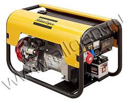 Портативный генератор Gesan QEP 8 мощностью 5.6 кВт)