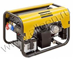 Портативный генератор Gesan QEP R7.5 мощностью 5.5 кВт)