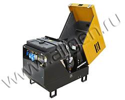 Портативный генератор Gesan QEP S7 мощностью 5.5 кВт)