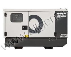 Портативный генератор Gesan QIP S7 мощностью 5.5 кВт)