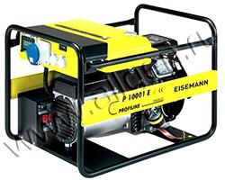 Портативный генератор Eisemann Р 10001 E мощностью 9.4 кВт)
