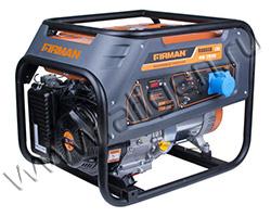 Портативный генератор FIRMAN RD7910 мощностью 5.5 кВт)