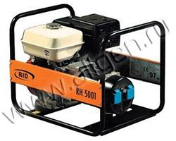 Портативный генератор RID RH 5001 E мощностью 5.5 кВт)