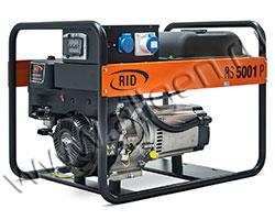 Портативный генератор RID RH 5001 PE мощностью 5.5 кВт)