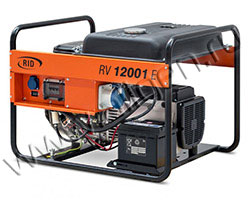 Портативный бензиновый генератор RID RH 12001 E мощностью 13.2 кВт