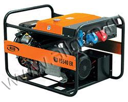 Портативный бензиновый генератор RID RH 15540 ER мощностью 16.5 кВт