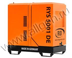 Портативный генератор RID RYS 6000 DE мощностью 6.05 кВт)
