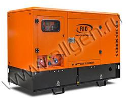 Портативный дизельный генератор RID 20 S-SERIES S мощностью 17.6 кВт