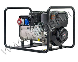 Портативный генератор RID RS 7000 мощностью 5.6 кВт)
