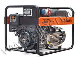 Портативный генератор RID RS 7540 PA мощностью 6 кВт)