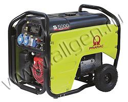 Бензиновый генератор Pramac S 5000 (4.8 кВт)