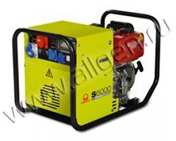 Портативный генератор Pramac S 6000 мощностью 5.5 кВт)