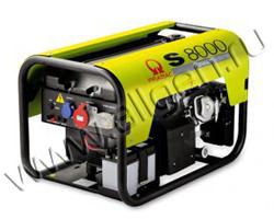 Портативный генератор Pramac S 8000 мощностью 6.3 кВт)