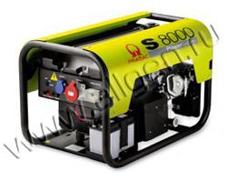 Портативный генератор Pramac S 8000 мощностью 6 кВт)
