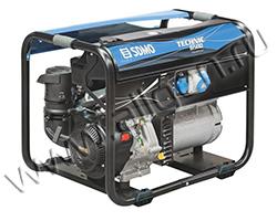 Портативный генератор SDMO TECHNIC 6500 E мощностью 6.5 кВт)