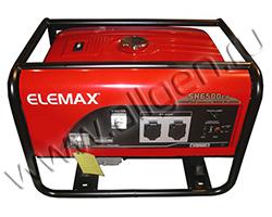 Портативный генератор Elemax SH 6500EX-RS мощностью 5.8 кВт)