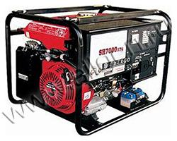 Портативный генератор Elemax SH 7000ATS-RAVS мощностью 6.1 кВт)